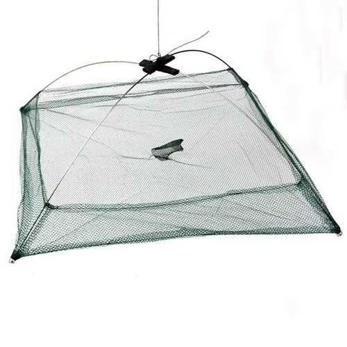 Fishing Foldable Mesh Baits Trap Umbrella Cast Dip Net Crab Shrimp-Fishing-SJI Shop