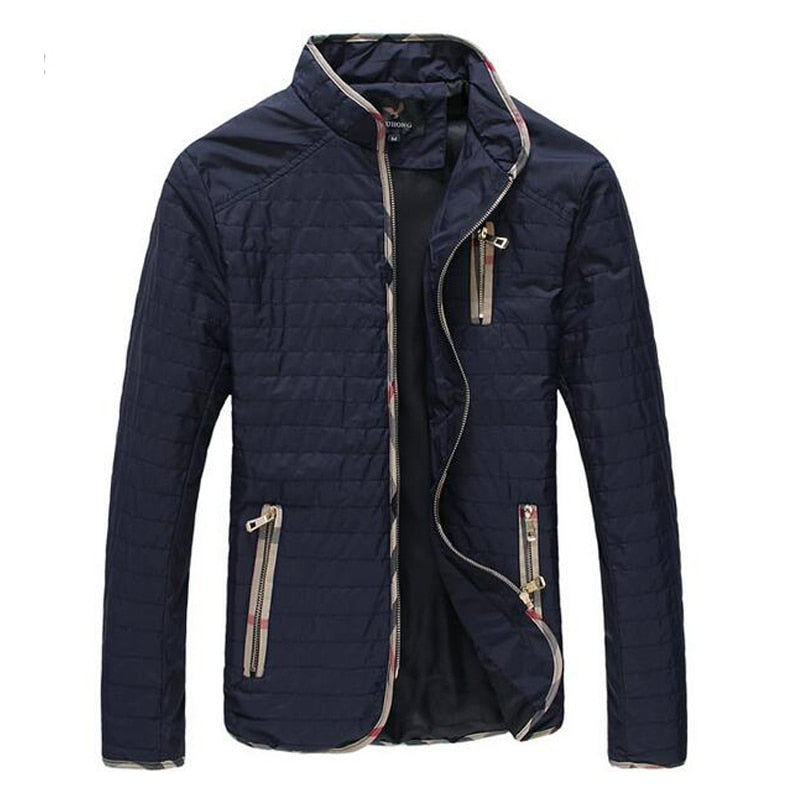 Men's Spring Autumn Jacket Coat Thin Handsome Breathable Outdoors Outwear