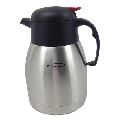 Brentwood 68 oz. Stainless Steel Coffee Thermos-Kitchen Gadgets-SJI Shop