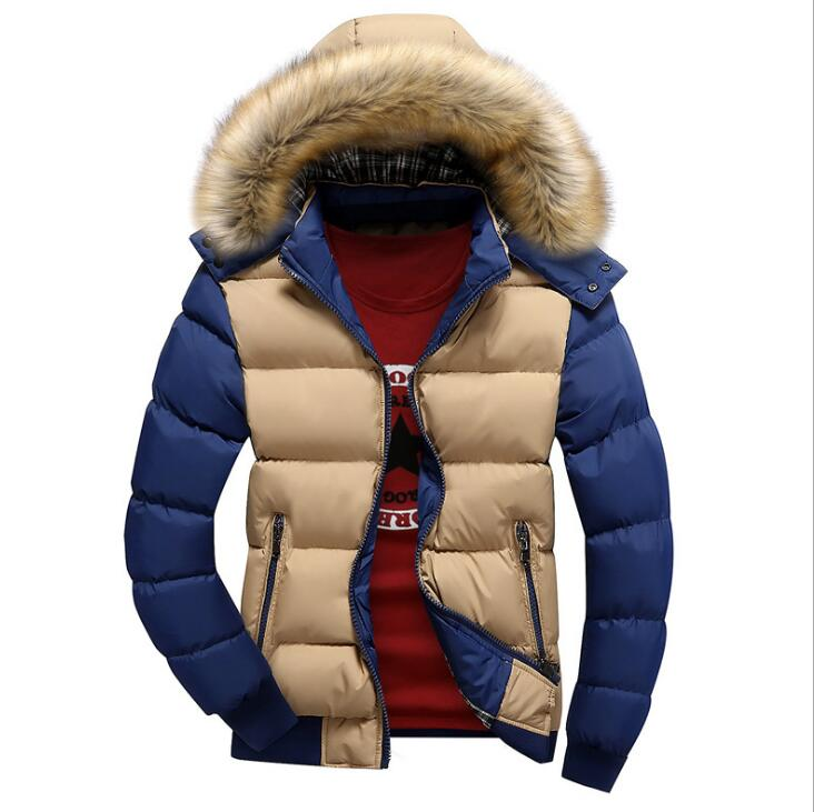 Men's Winter Warm Down Jackets And Coats Men Windproof Thick Veste Man Breathable Cotton-Padded Casual Bomber Jacket