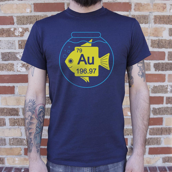 Goldfish T-Shirt (Mens)-Mens T-Shirt-SJI Shop