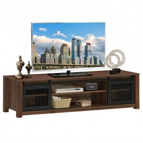 "TV Stand Entertainment Center for TV's up to 65"" -Coffee"