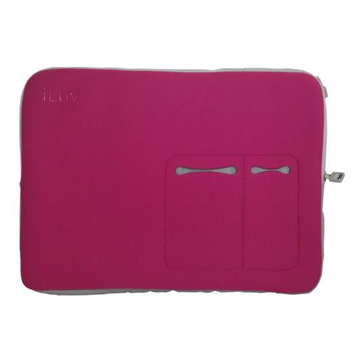 "iLuv 17"" Macbook Pro Sleeve - Pink-Accessories-SJI Shop"