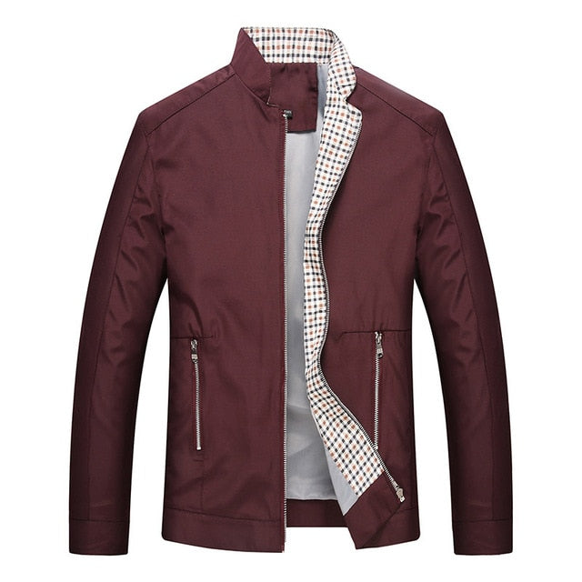 Leisure business men jacket zipper coat