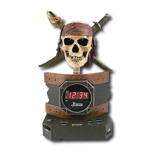 Disney Pirates of the Caribbean Alarm Clock Radio-Kids Electronics-SJI Shop