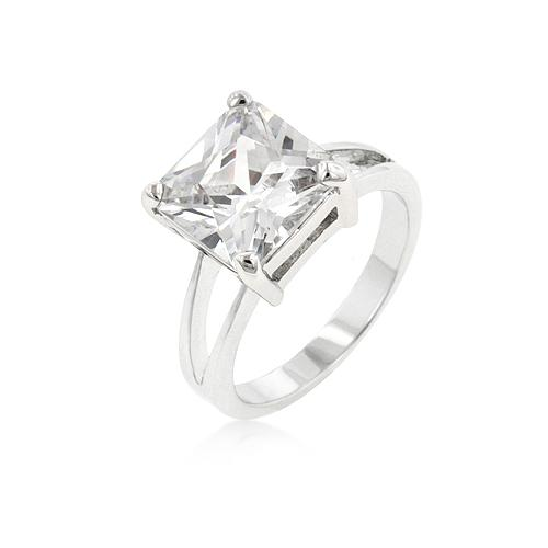 Cubic Zirconia Gypsy Ring-Rings-SJI Shop