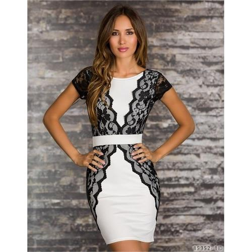 Women newest hot sale club wear white-Women Dresses-SJI Shop