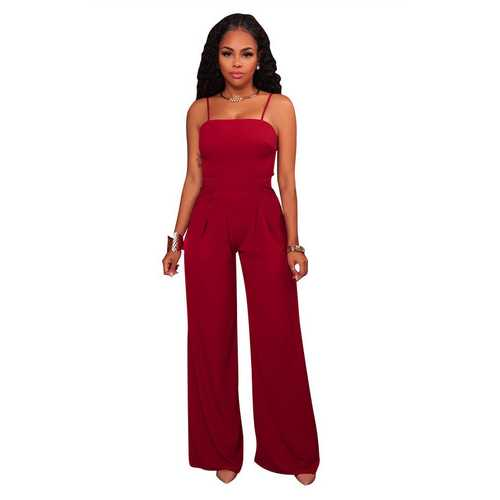 Hammock Strappy Bell Jumpsuit