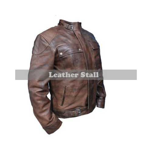 Wesley Gibson McAvoy Leather Jacket