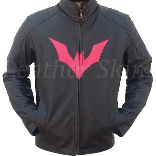 Batman Men Leather Jacket