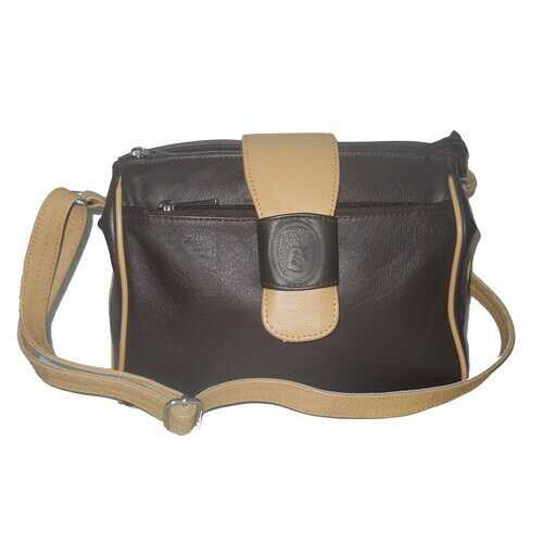 Women's Genuine Leather Handbag with Crossbody Belt Dezire