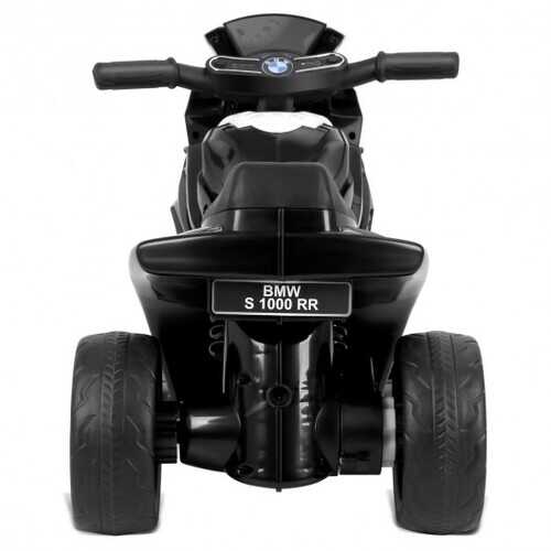 6V Kids 3 Wheels Riding BMW Licensed Electric Motorcycle-Black