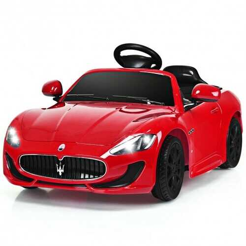 Licensed Maserati GranCabrio 12v Battery Powered Vehicle with Remote Control and LED Lights