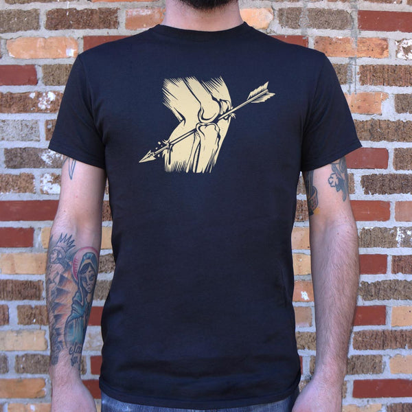 Arrow In The Knee T-Shirt (Mens)-Mens T-Shirt-SJI Shop