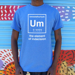 Element Of Indecision T-Shirt (Mens)-Mens T-Shirt-SJI Shop