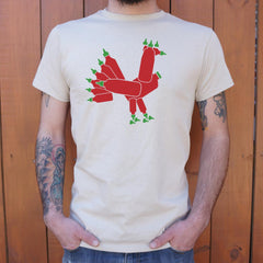Hot Sauce Rooster T-Shirt (Mens)-Mens T-Shirt-SJI Shop