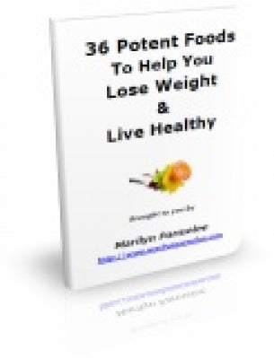 36 Potent Foods To Help You Lose Weight and Live Healthy (eBook)-SJI Shop