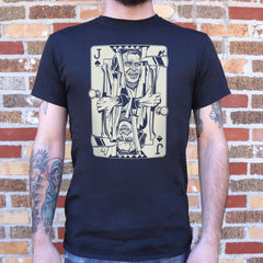 Jack Of Torrance Card T-Shirt (Mens)-Mens T-Shirt-SJI Shop