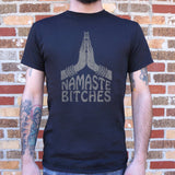 Namaste Bitches Yoga T-Shirt (Mens)-Mens T-Shirt-SJI Shop