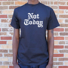 Not Today T-Shirt (Mens)-Mens T-Shirt-SJI Shop