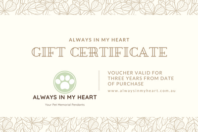 New Gift Certificates