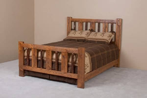 Rustic River Sawtooth Hickory Bed