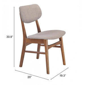 Midtown Dining Chair Gray