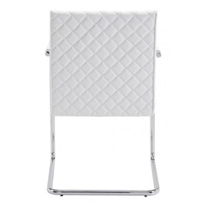 Quilt Dining Chair White