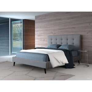 Modernity Queen Bed Gray by Zuo Modern - HomeKingz.com - Online furniture shop with the best prices & premium customer support!