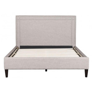 Renaissance Queen Bed Gray