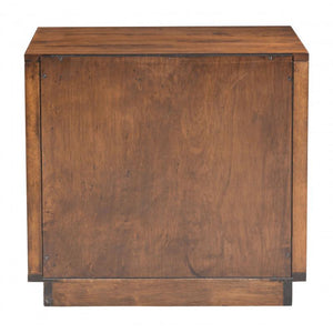 Linea End Table Walnut