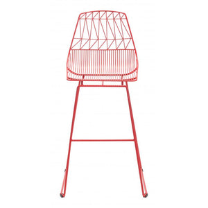 Brody Bar Chair Red