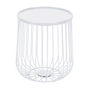Gilbert Side Table White