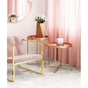 Alt Arm Chair Pink