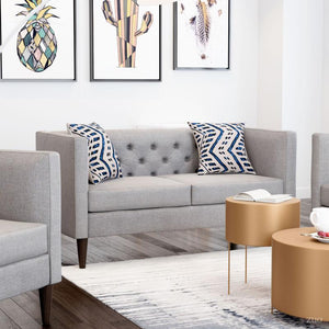 Grant Loveseat Gray