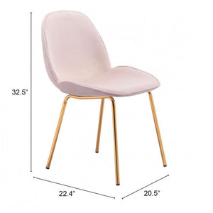 Siena Dining Chair Rose Pink