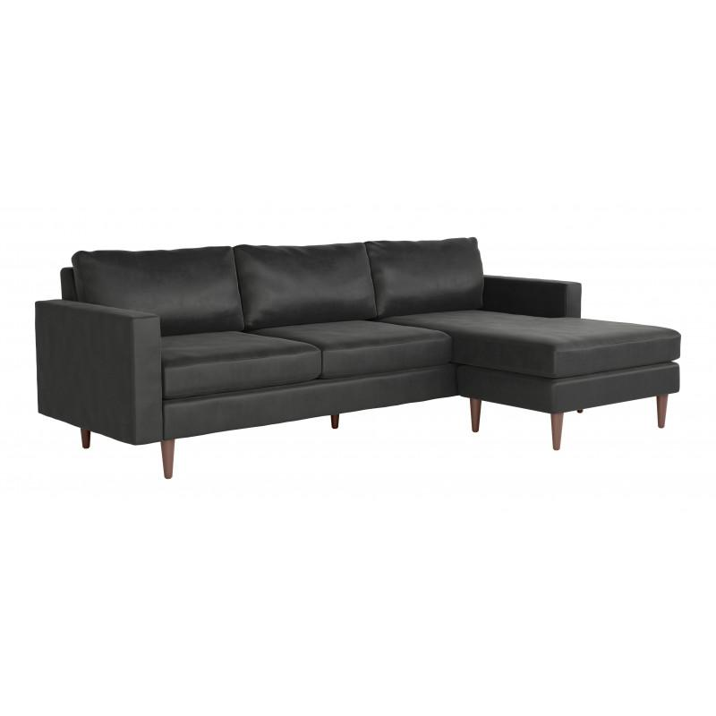 Kace Sectional Charcoal
