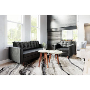 Puget Sofa Black