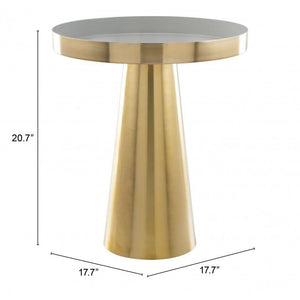 Nova Side Table Gold