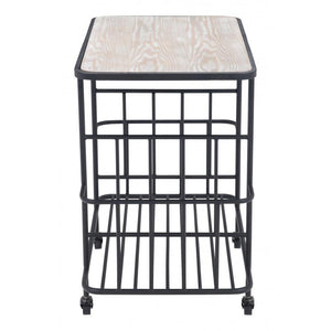 Argus Bar Cart Black