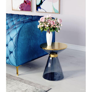 Apollo Side Table Blue