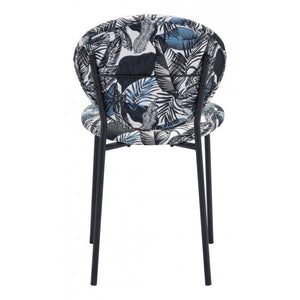 Clyde Leaf Dining Chair Multicolor