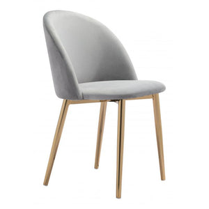Cozy Dining Chair Gray