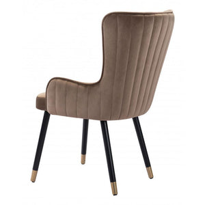 Paulette Dining Chair Brown