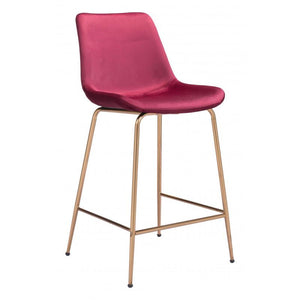 Tony Counter Chair Red