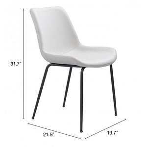 Byron Dining Chair White