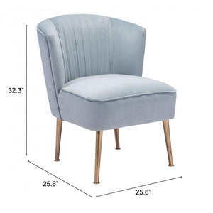 Andes Accent Chair Blue
