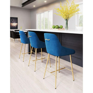 Mira Velvet Dining Chair Black