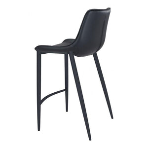 Magnus Bar Chair Black