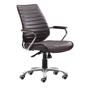 Enterprise Low Back Office Chair Espresso